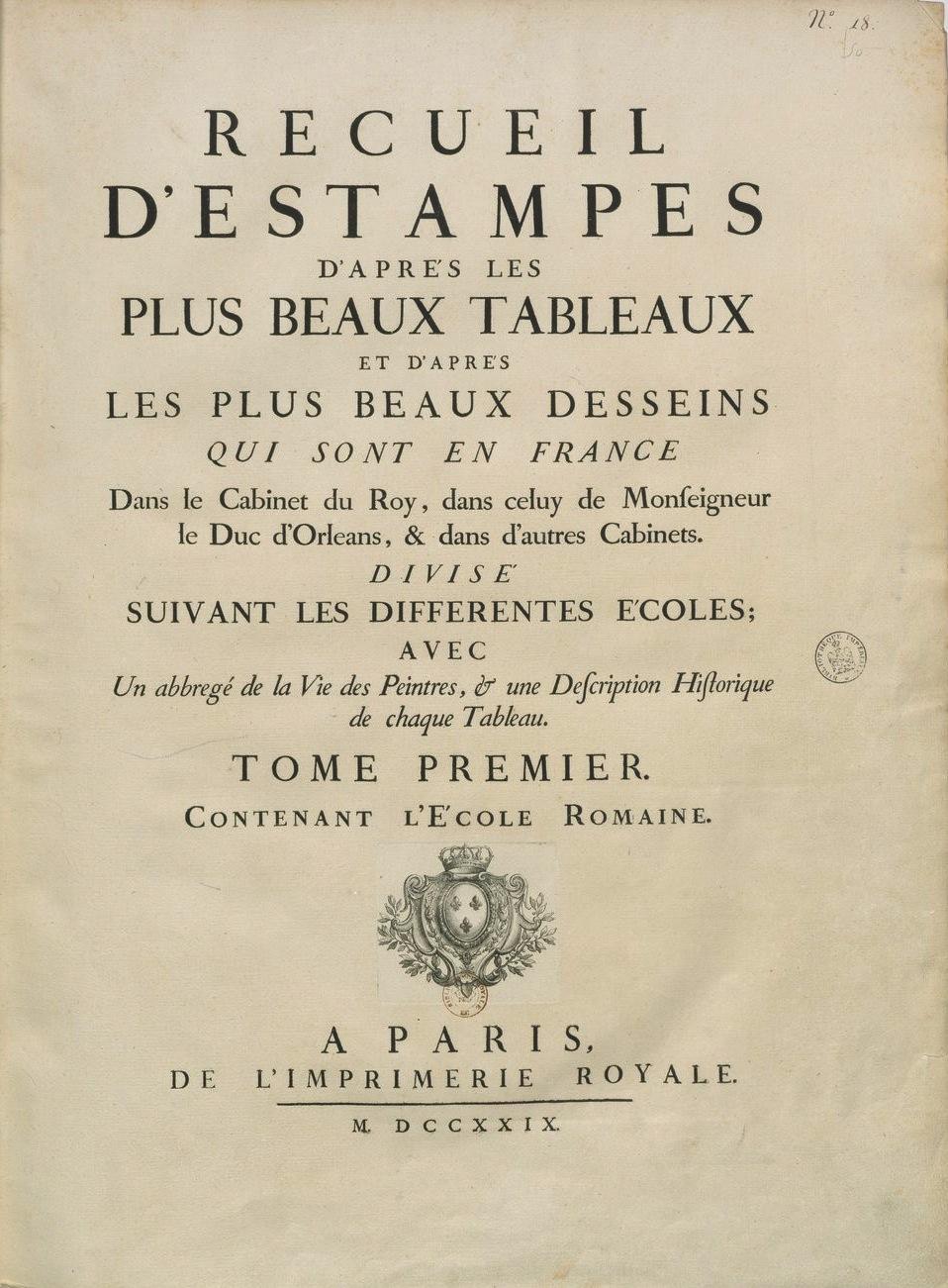 Couverture du recueil Crozat