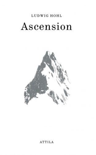 """Couverture d'""""Ascension"""" de Ludwig Hohl"""