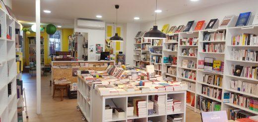 Photographie de la librairie Pantagruel Crédits : Librairie Pantagruel. Photographie prise avec l'aimable autorisation de la structure. Crédit photo: Maëva Bergues