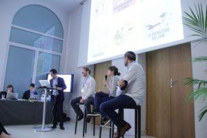 Socio en cases présente la collection Sociorama au forum des « Nouvelles initiatives en médiation scientifique », organisé par le CNRS et la CPU, Bordeaux, 31/05/2016.