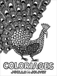 Couverture de Coloriages, Joëlle Jolivet