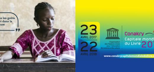 Support de communication de Conakry Capitale Mondiale du Livre 2017
