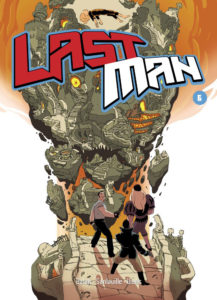Couverture deLastman, tome 6, Casterman, 2014.
