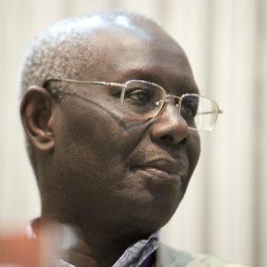 L'écrivain sénégalais Boubacar Boris Diop à Genève en 2011.