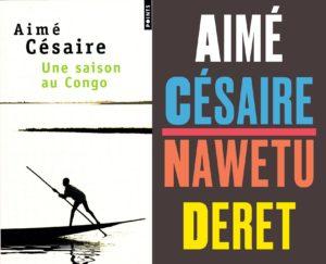 Couvertures d'Une saison au Congo chez Points à gauche et dans la collection Céytu à droite.