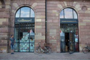 Photographie de la librairie Gallimard, à Strasbourg, ActuaLitté. Source : Wikimedia Commons, CC 2.0.