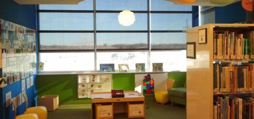 bibliothèque pour enfants, lecture, enfants lire