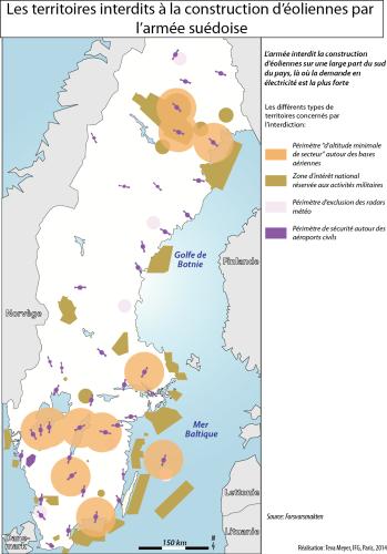 L'armée de l'air et l'énergie éolienne en Suède