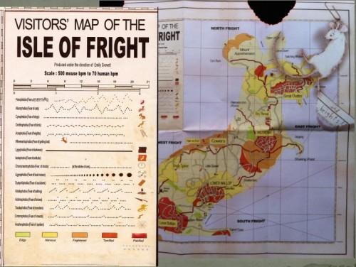 Fig. 8 : carte des Peurs