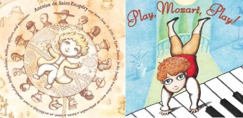 Figure 11 : Le Pilote et le Petit Prince (2014), p.10 / Play, Mozart, Play (2006), p.1