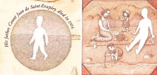 Figure 12 : Le Pilote et le Petit Prince (2014), p.10 / Tibet (1998), p.15.