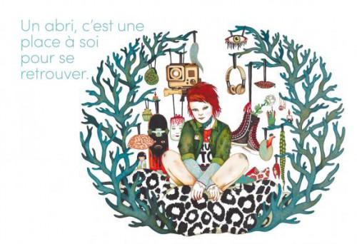Fig. 10 : Emmanuelle Houdart. Abris. (2014), p. 20-21.