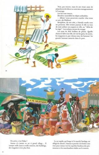 Ill. 2.3. Féfé (1952), p.25 / Assoua (1969), p.31