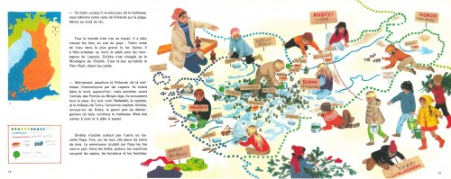 Ill. 2.16. Carte dans Sinikka (1974)