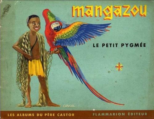 Ill.5: Couverture de Mangazou, le Pygmée (1951)