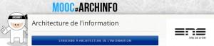 Inscription au MOOC Archinfo sur FUN