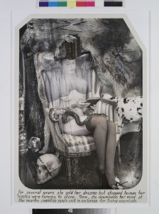 Joel-Peter Witkin. The Paris Triad: the Reader, 2011. Paris, BNF, département des Estampes Copyright Witkin