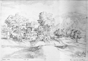 Paysage de Pene, d'après Titien (15B)