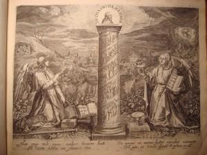 Trophaeum Vitae Solitariae, Thomas de Leu excudit, d 'après Martin de Vos