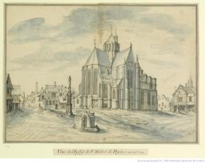 Etienne Martellange, Eglise Saint-Michel de Dijon
