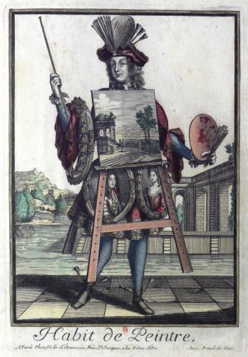 Habit de peintre, par Nicolas de Larmessin