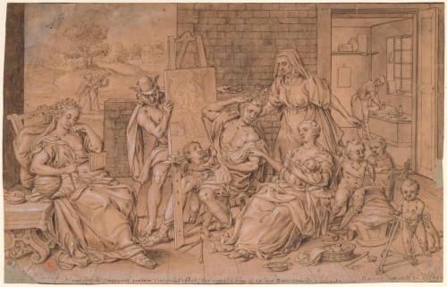 Marcus Gheeraerts l'Ancien, Les Soucis du peintre