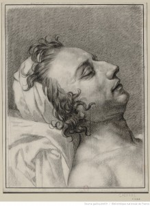 Le Pelletier de Saint-Fargeau mort, par Charles Meynier (1763-1832)
