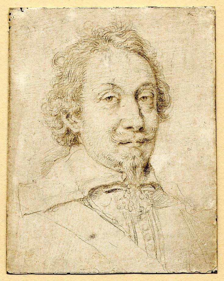 Crispin II de Passe, Portrait de Jacob Edelheer, British Museum