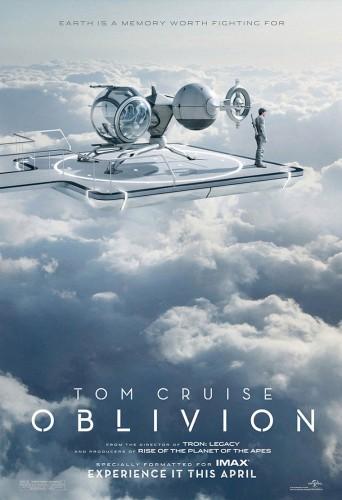 Affiche du film Oblivion, 2013.