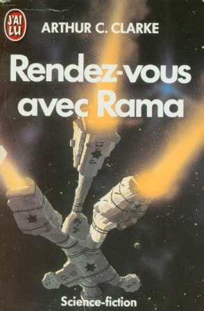 A. C. Clarke, Rendez-vous avec Rama, illustration de Chris Foss, J'ai lu. 1985.