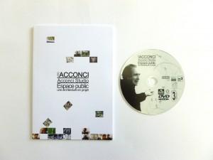 «Vito Acconci /Acconci Studio. Une architecture en projet», dvd rom, conception, réalisation Pierre Braun, Présent composé, Rennes, 2005