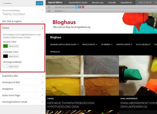 Bloghaus - Farben 2