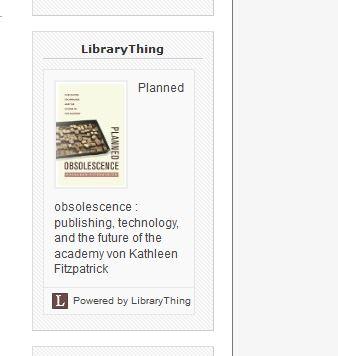 LibraryThing - funktioniert