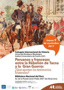 Independencia del Peru y Francia