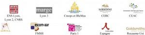 Logos partenaires colloque Langarts