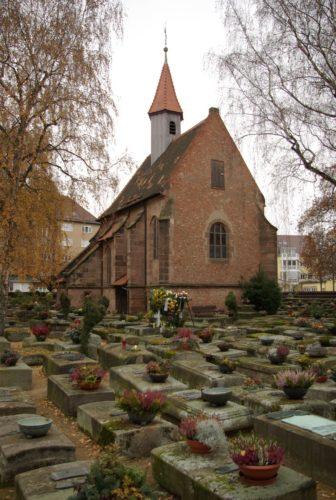 Nuremberg's Rochusfriedhof.