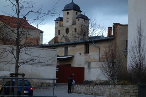 Torhaus der Moritzburg in Zeitz, Sitz der Stiftsbibliothek
