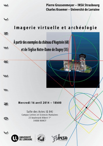 Conférence Imagerie virtuelle