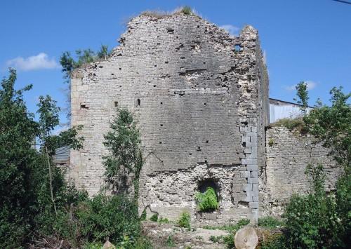 élévation ouest de la tour