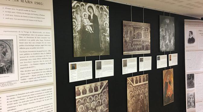 Exposition : le rôle de l'image dans l'enseignement d'archéologie et d'histoire de l'art à l'université de Nancy (1887-1928)