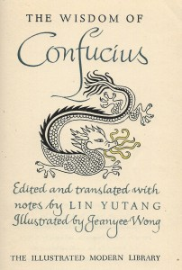 The Wisdom of Confucius (Random, 1943)