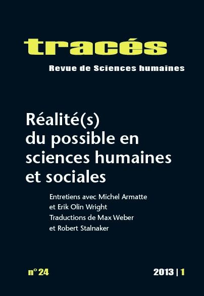 Parution. Réalité(s) du possible en sciences humaines et sociales.