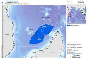 Figure 1 - Carte de situation du Parc Naturel Marin de Mayotte