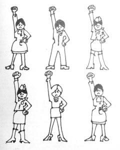 Libération des femmes, année zéro, exemple de dessin