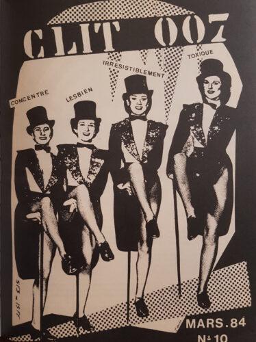 Clit 007 numéro 10 mars 1984 couverture
