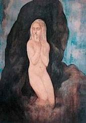 Le Silence, dessin de Gibran