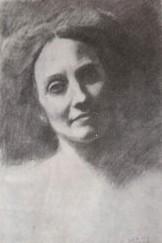 Mary Haskell dessinée par Gibran