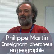 Portrait de chercheur / Philippe MARTIN