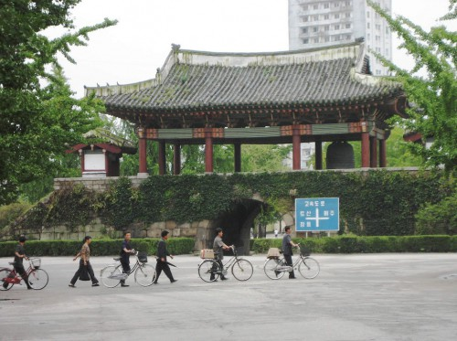 Nam Gate in Kaesong. Copyright David Stanley