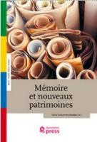Mémoires et nouveaux patrimoines